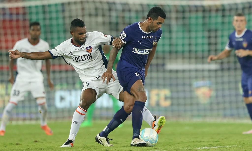 Goa perde para o Chennaiyin fora de casa