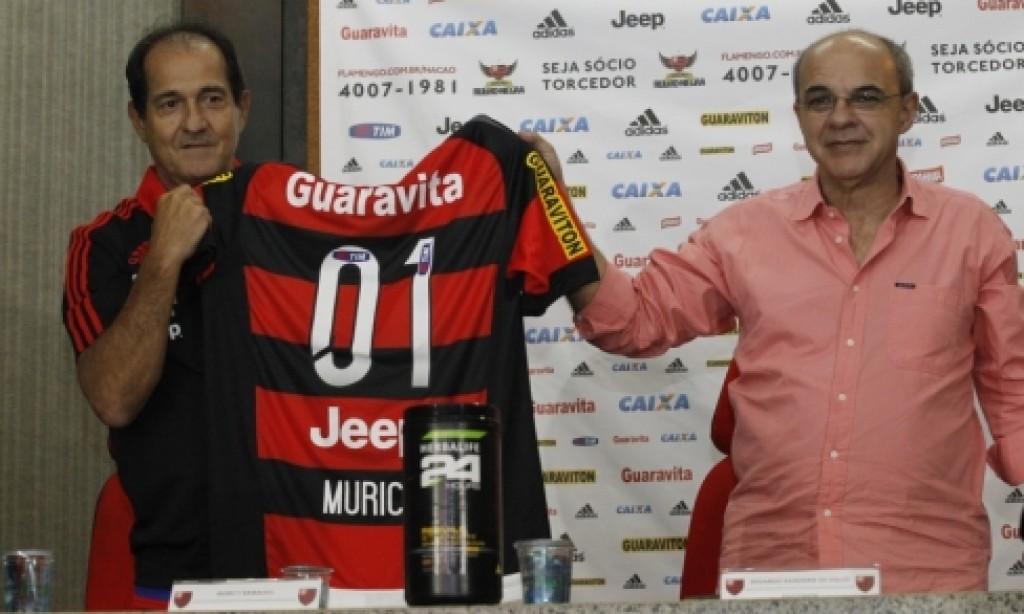 Zico dá boas-vindas à Muricy Ramalho e parabeniza Bandeira de Mello pela reeleição