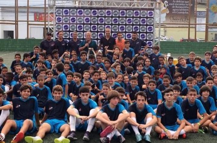 Galinho participa de evento da Escola Zico 10 na Bahia
