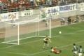 O Gol escorpião de Zico com a camisa do Kashima Antlers