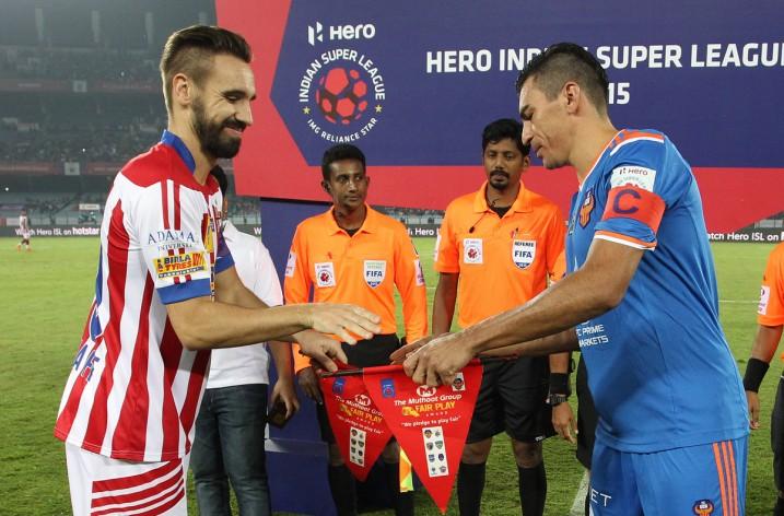 Goa perde fora de casa para o Atlético de Kolkata