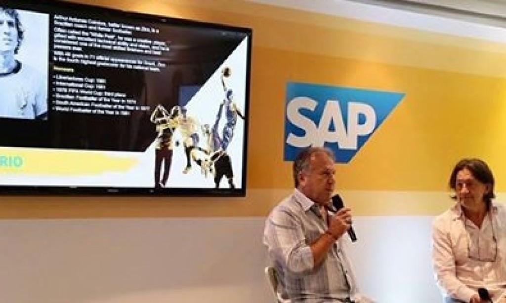 Grupo SAP recebe palestra do Zico