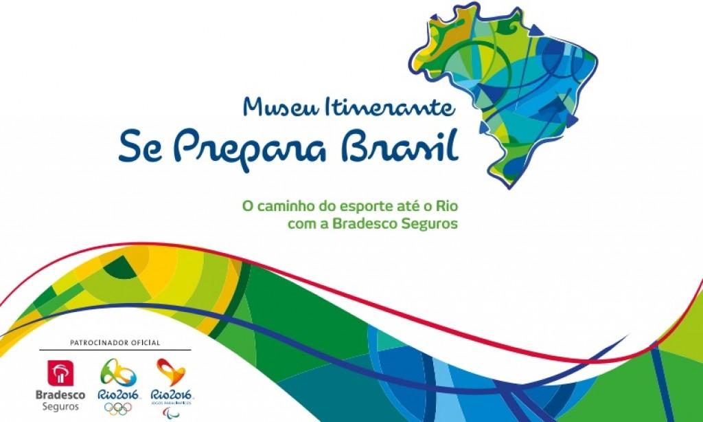 Zico convida todos a visitar o Museu Itinerante Se Prepara Brasil