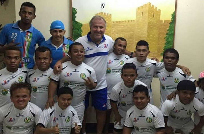 Master Zico 10 participa de amistosos em Altamira