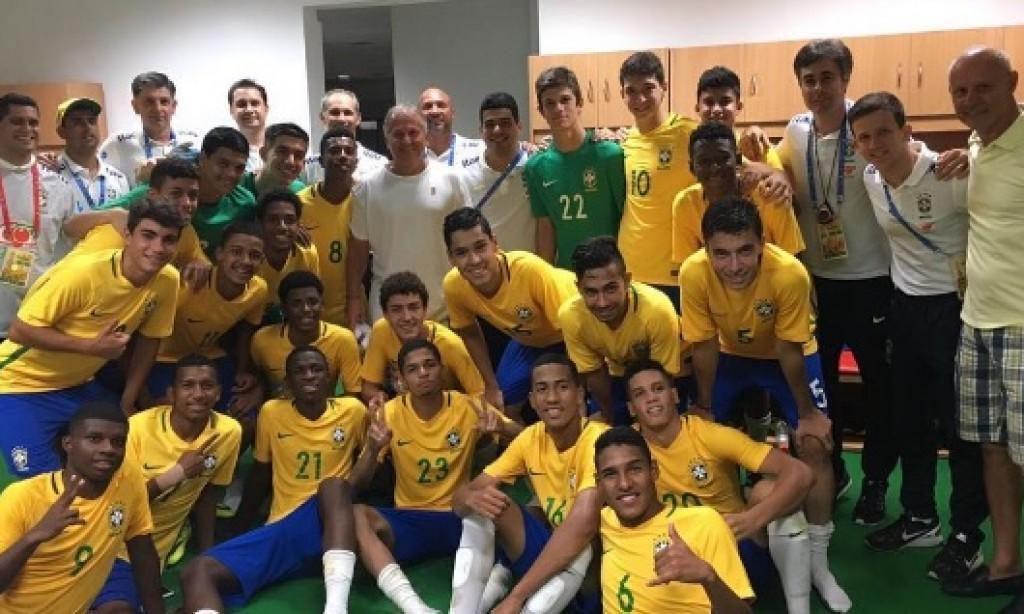Galinho se encontra com a Seleção Brasileira sub-17 na BRICS Cup