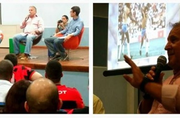 Universidade Federal Fluminense recebe palestra de Zico
